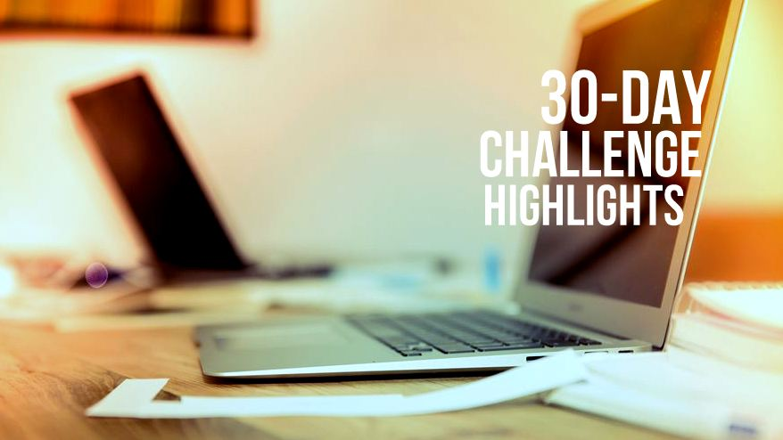 30 Day Challenge Highlights Emjae Fotos